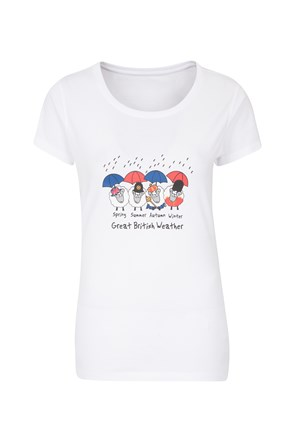 Great British Weather II Womens Tee