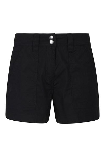 Coast Womens Shorty Shorts - Black