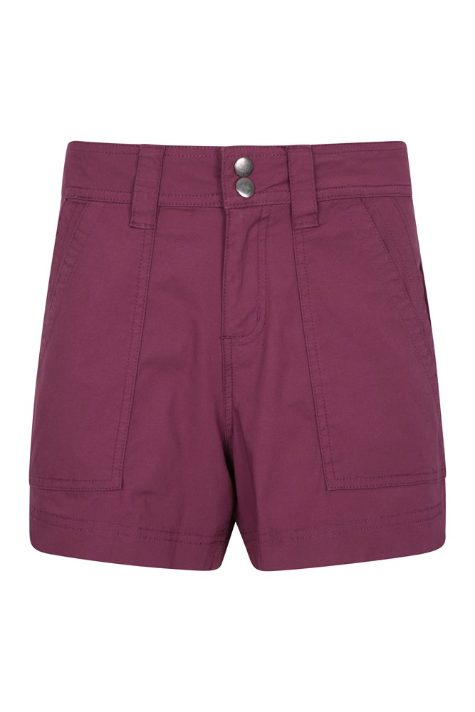 Coast Damen Shorty-Shorts - Burgunderrot