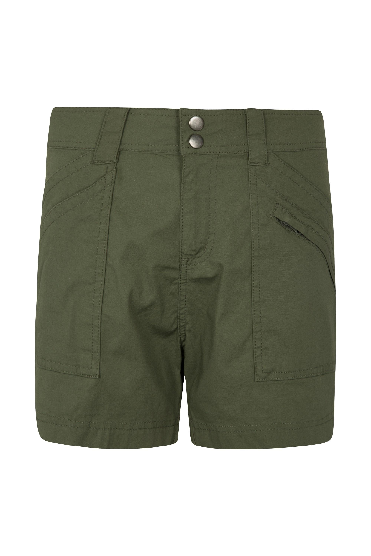 Coast Womens Shorty Shorts - Green