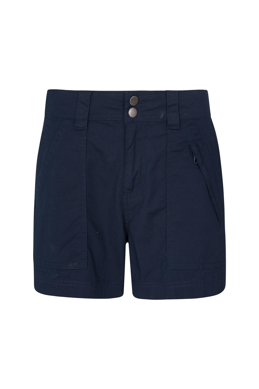 Coast Womens Shorty Shorts - Navy