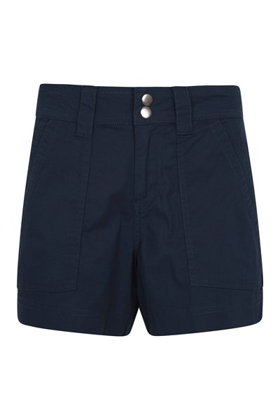 Coast Womens Shorty Shorts - Navy