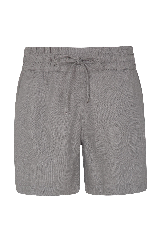 Summer Island Womens Shorts - Grey