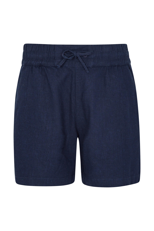 Summer Island Womens Shorts - Navy