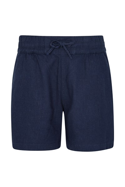 Summer Island Womens Shorts - Navy