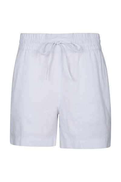 Summer Island Womens Shorts - White