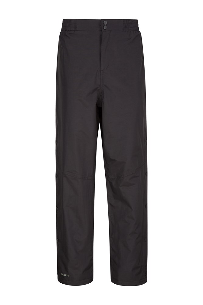 Extreme Downpour Waterproof Mens Over Trousers - Regular Length - Black