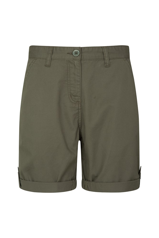 Lakeside II Womens Shorts - Green
