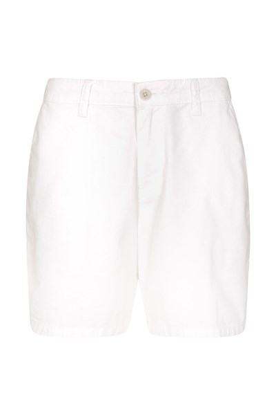 Lakeside II Womens Shorts - White