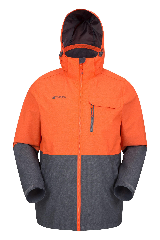 Cirrus Mens Waterproof Jacket - Orange