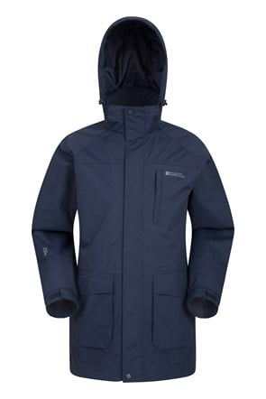 Glacier II Mens Long Waterproof Jacket