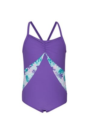 Crisscross Sporty Kids Swimsuit
