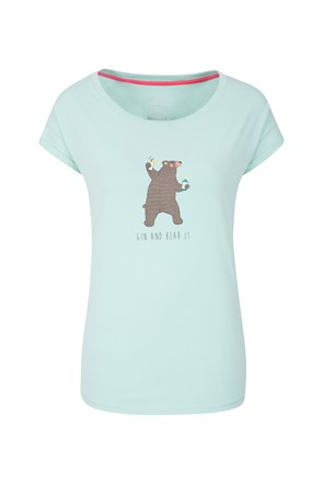Gin And Bear It Womens Tee