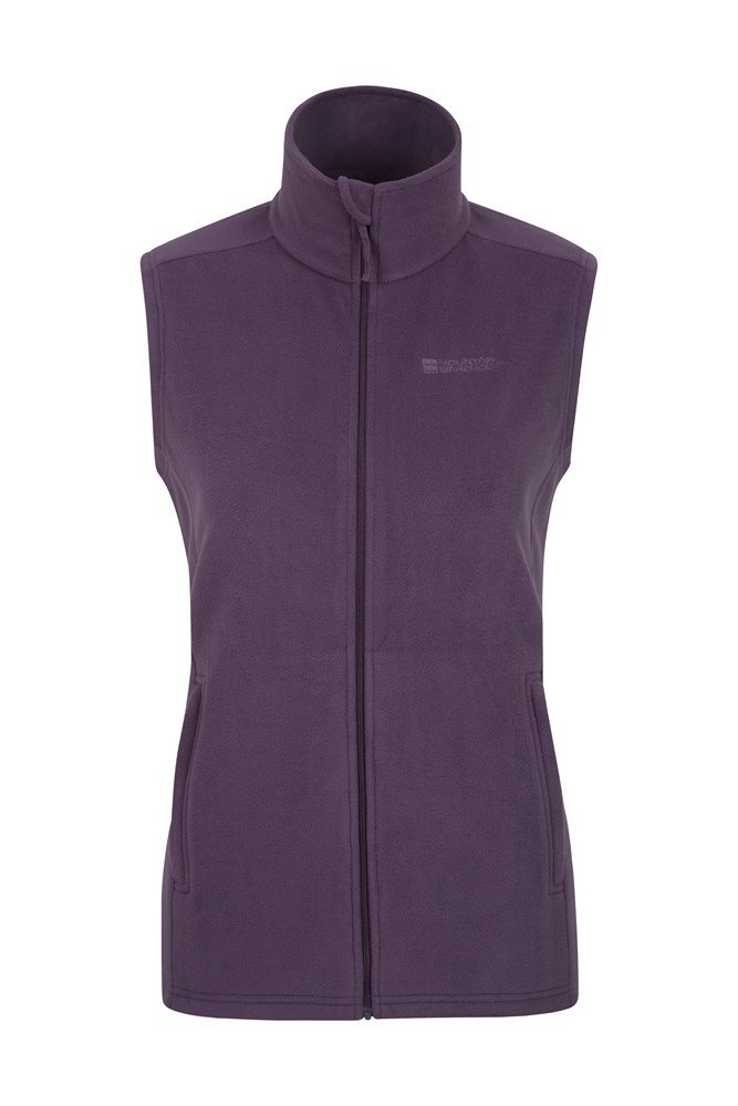 Mountain Warehouse Camber Women/'s Gilet Made from Microfleece