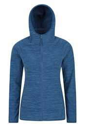 Lleyn Melange Womens Full Zip Fleece