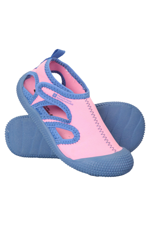 0b9ec0373a78 Junior Aqua Shandals - Pink - Mirror Online