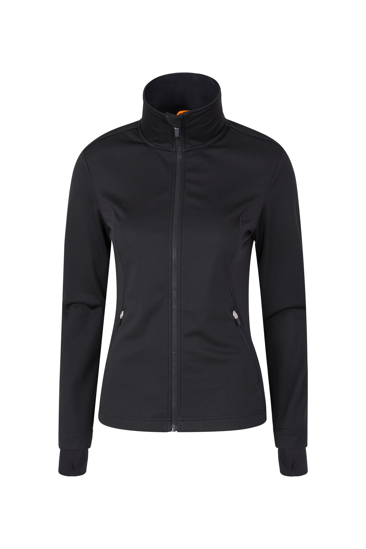 Flex Womens Softshell Jacket - Black