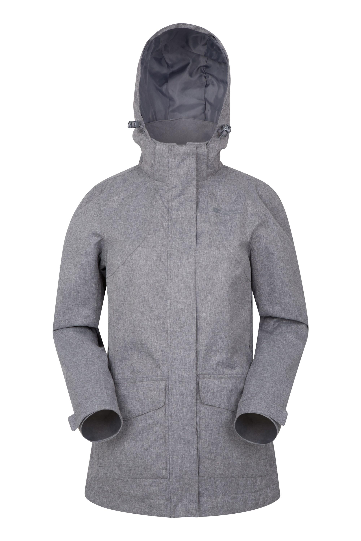 Fjord II Womens Waterproof Jacket - Grey