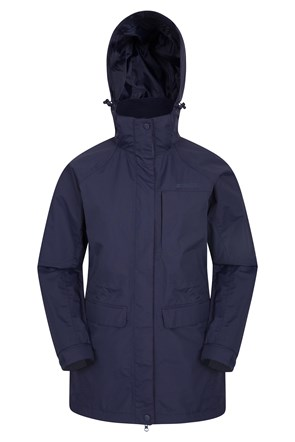 Glacier II Womens Long Waterproof Jacket