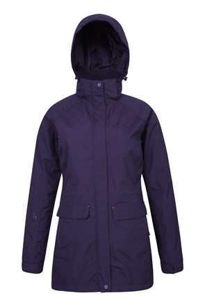 Glacial Womens Long Waterproof Jacket