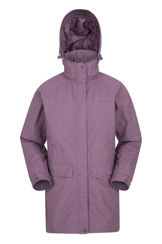 Glacial - wodoodporna kurtka damska - Pink