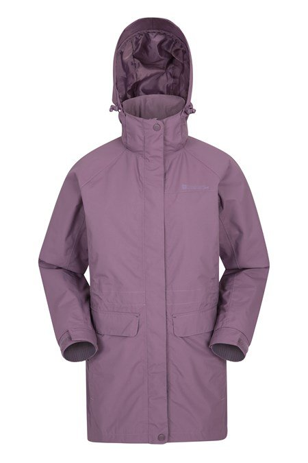025821 GLACIAL WOMENS LONG EXTREME WATERPROOF JACKET