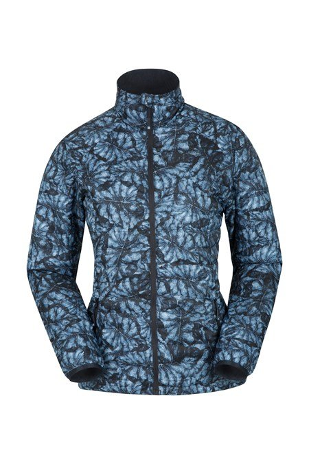 025826 SPRING TIME ULTRA LIGHT PRINTED PADDED JACKET
