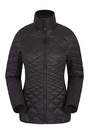 Hotham Womens Padded Softshell