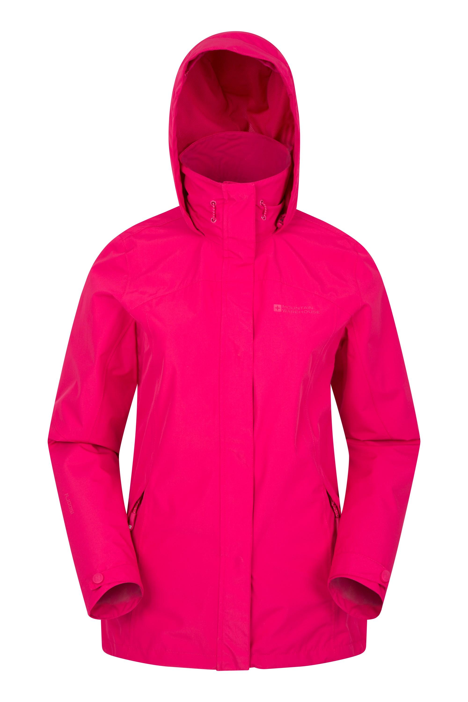 Cambridge Womens Waterproof Jacket - Pink