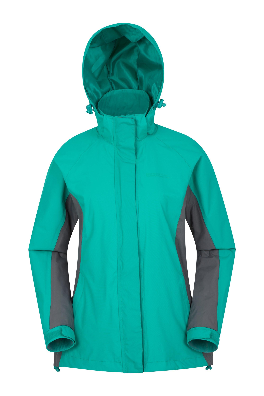 Breeze Womens Waterproof Jacket - Green
