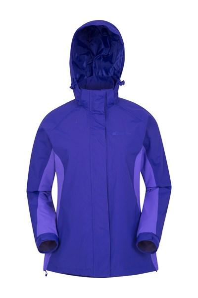 Breeze Womens Waterproof Jacket - Purple