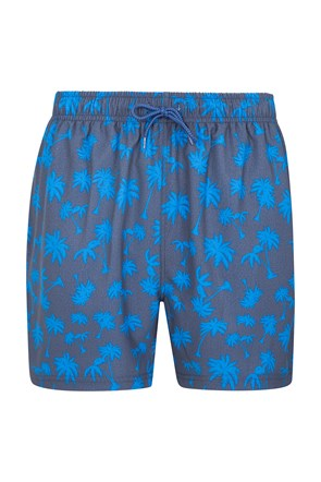 Aruba Stretch Mens Printed Swim Shorts