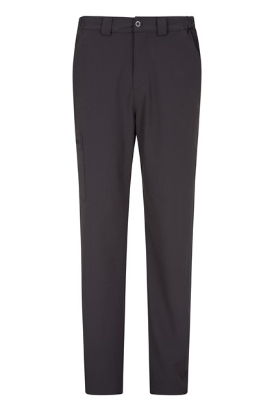 Stride Mens Stretch Trousers - Grey