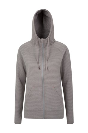 Bay Full Zip Womens Hoodie
