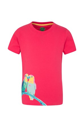 Steve Backshall Love Birds Kids Tee