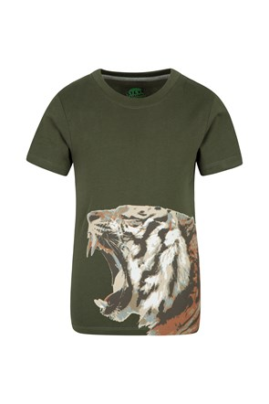 Steve Backshall Tiger Roar Kids Tee