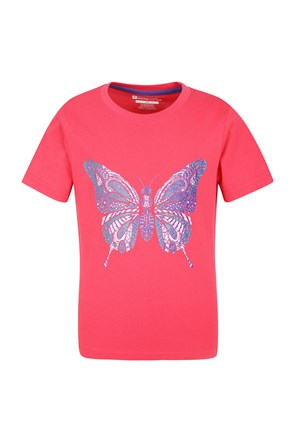Kids Patterned Butterfly Tee