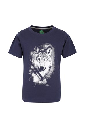 Steve Backshall Grey Wolf Tee