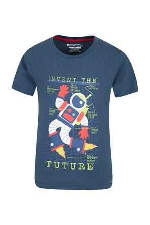Invent The Future Kids T-Shirt