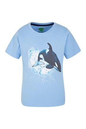 Steve Backshall Orca Kids Tee