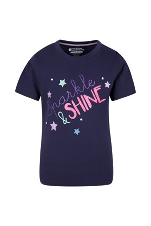 Kids Sparkle And Shine Tee