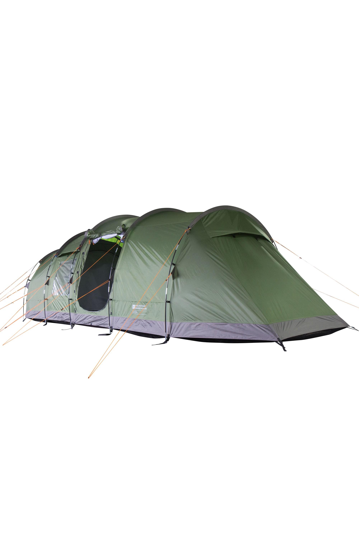 Buxton 6 Man Tent - Green