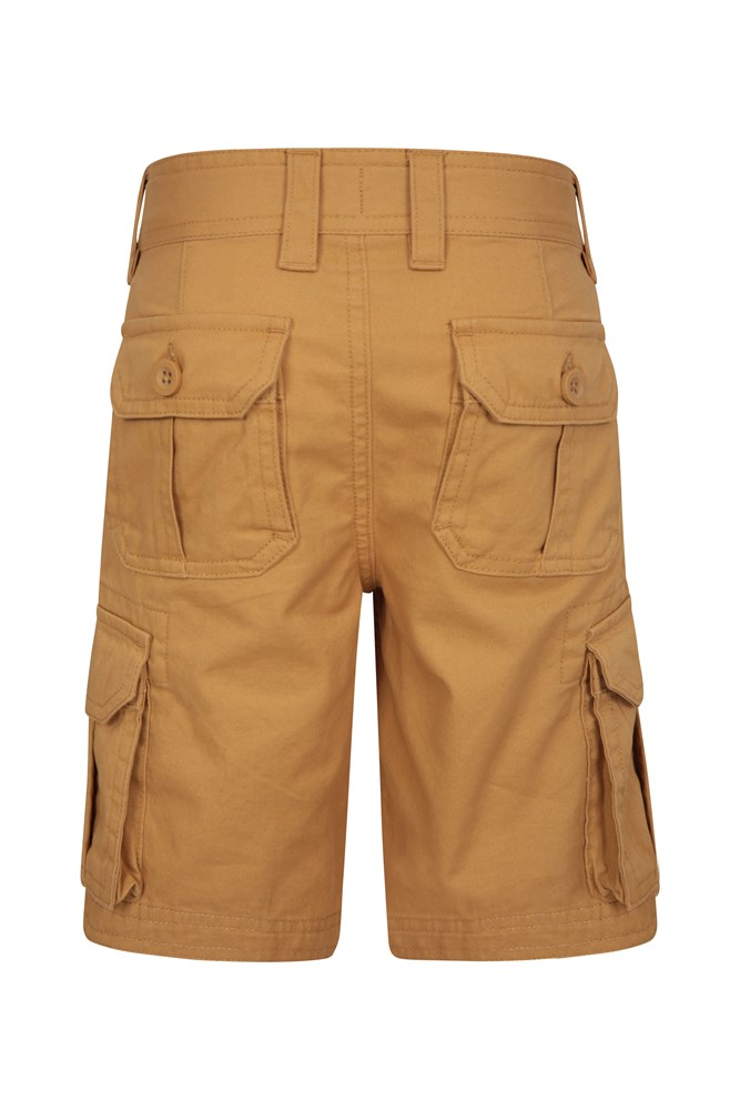 Mountain Warehouse Girls 100/% Cotton Waterfall Shorts in Casual Style