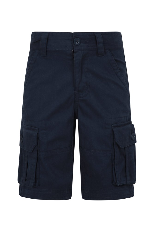 Kids Cargo Shorts - Navy