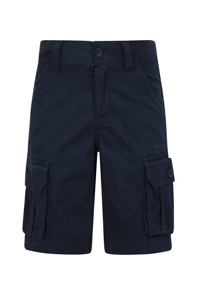 Kids Cargo Shorts - Navy