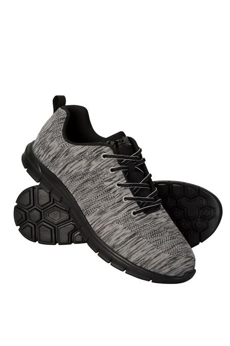 e49efc980056 Zakti Mens Sprint Trainers - Dark Grey