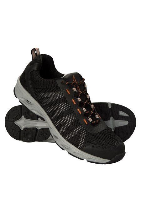 ab066c54f06e River Mens Aqua Shoes - Black