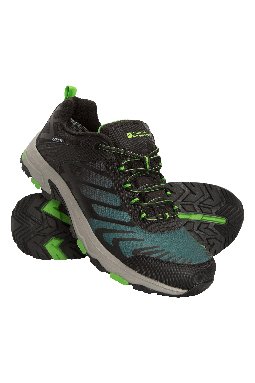 Pace Mens Waterproof Shoes - Green