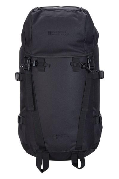 High 50L Backpack - Black