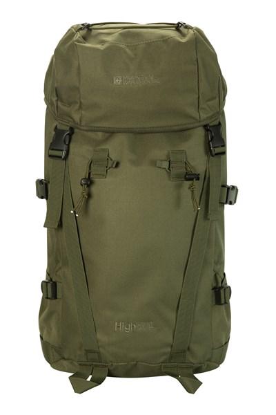 High 50L Backpack - Green